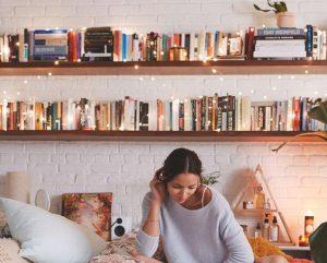 wrap around book shelves inspiration