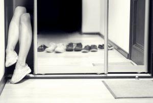 walk in closet mirror