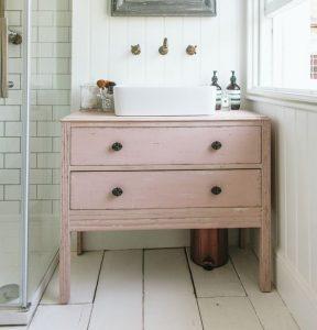 Re purposed Bathroom cabinet