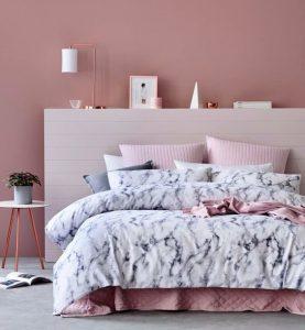 Pink theme bedroom