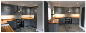 Multiwood Dust Grey Kitchen cupbaord