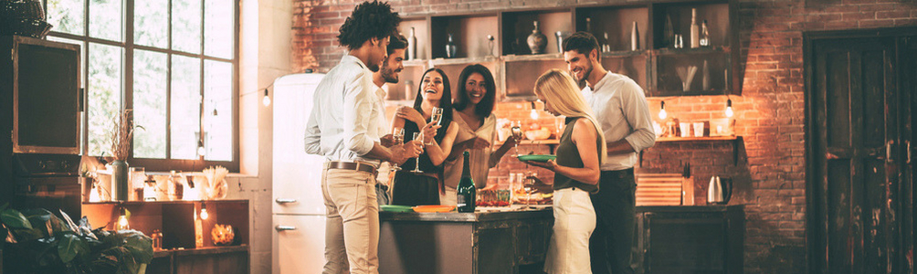Best kitchen layouts for parties