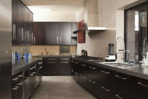 Commercial galley kitchen design