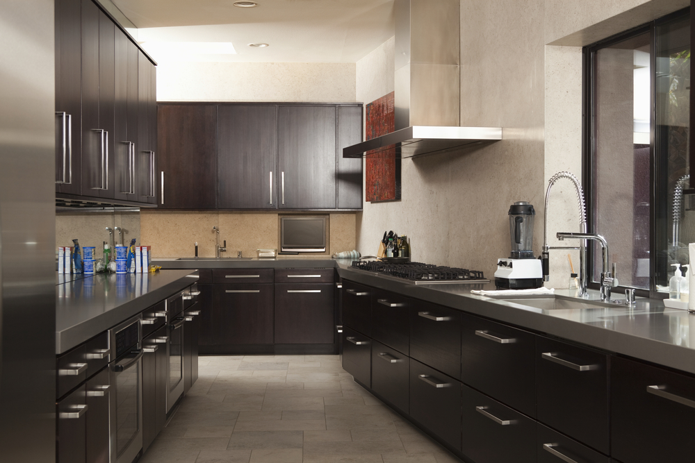 Commercial galley kitchen design