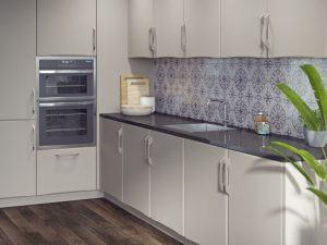 Crossland Super Matt Cashmere kitchen units