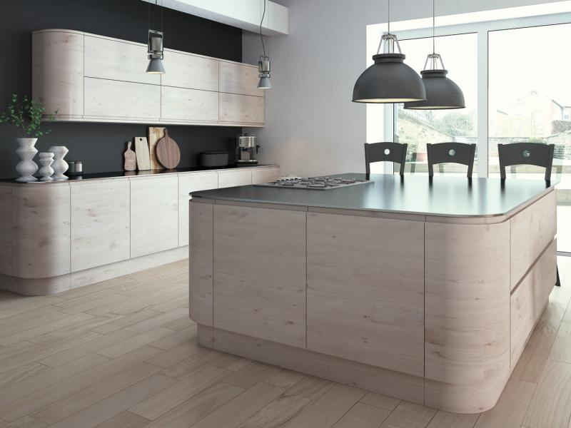 Malton Hemlock Nordic kitchen units