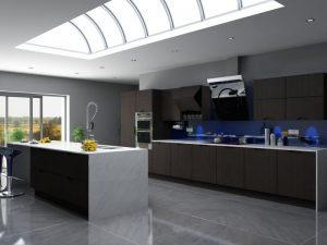 Unique Metropole kitchen units